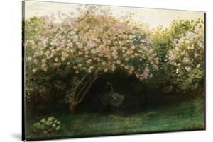Le Repos sous les Lilas by Claude Monet