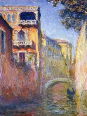 Le Rio de La Salute, 1908 by Claude Monet