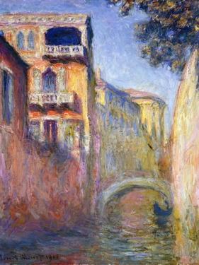 Le Rio de la Salute by Claude Monet