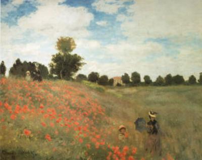 Les Coquelicots by Claude Monet