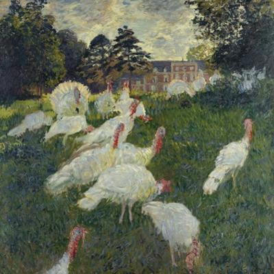 Les Dindons (The Turkeys) by Claude Monet