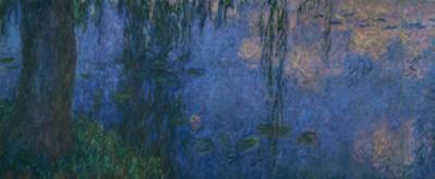 Les Nympheas, les Saules-water lillies and willows. Inv. 20104. by Claude Monet