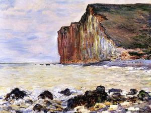 Les Petites Dalles, Pourville, 1881 by Claude Monet