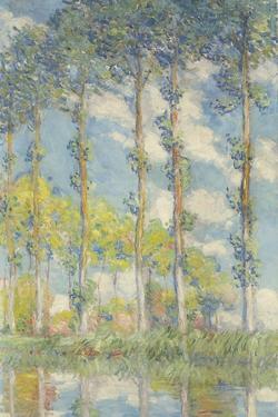 Les Peupliers, 1891 by Claude Monet