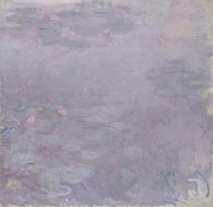 Light-Coloured Waterlilies, 1917-25 by Claude Monet