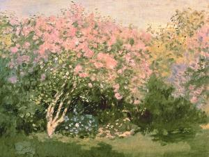 Lilac in the Sun, 1873 by Claude Monet