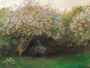 Lilacs. Grey Weather by Claude Monet