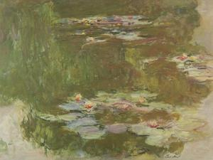 Lily Pond, 1881 by Claude Monet