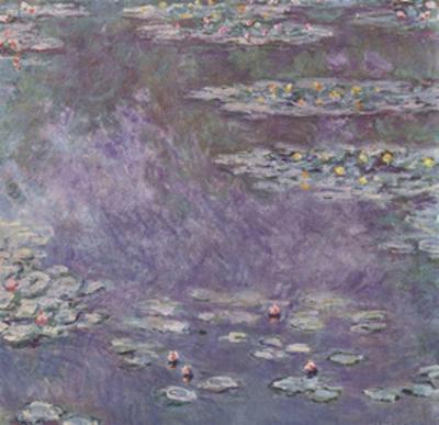 Claude Monet (Lily pond) Art Poster Print