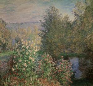 Little Corner of the Garden by Claude Monet
