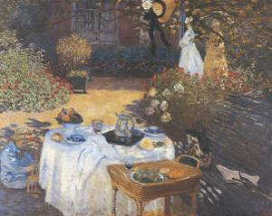 Lunch by Claude Monet