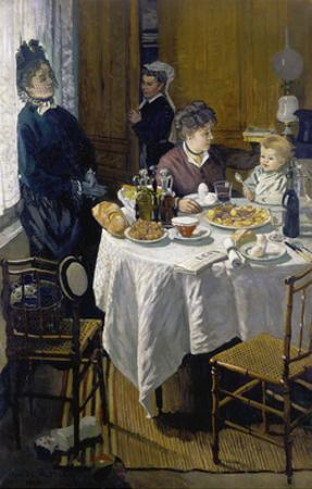 Luncheon (Le Déjeuner), 1868 by Claude Monet