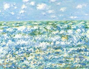 Mare Agitato by Claude Monet