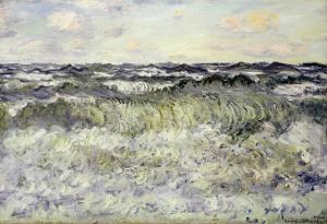 Marine (Etude de Mer), 1881 by Claude Monet