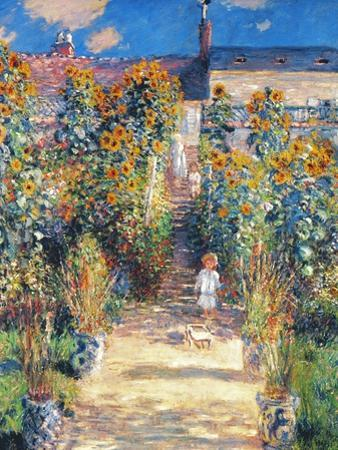 Monet: Garden/Vetheuil by Claude Monet