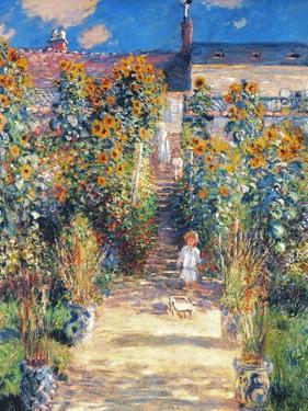 Monet: Garden/Vetheuil by Claude Monet