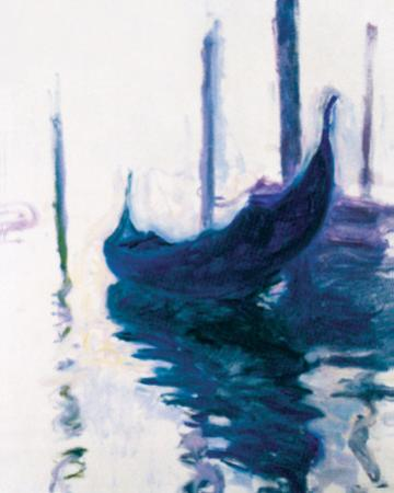 Monet - Gondolas by Claude Monet
