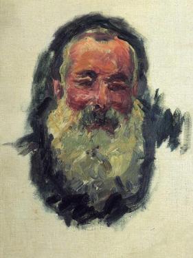 Monet Self Portrait by Claude Monet
