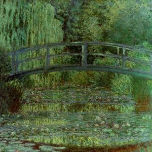 Monet: Waterlilies, 1899 by Claude Monet