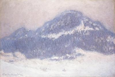 Mont Kolsaas, Misty Weather, 1895 by Claude Monet