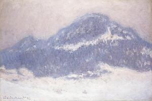 Mont Kolsaas, Misty Weather, 1895 by Claude Monet