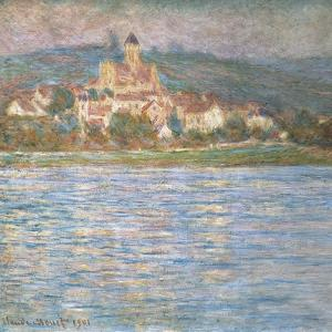 Morning at Vétheuil by Claude Monet