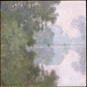 Morning on the Seine, Near Giverny, 1896 by Claude Monet