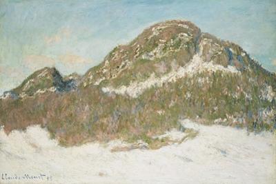 Mount Kolsaas, Sunlight Effect, 1895 by Claude Monet