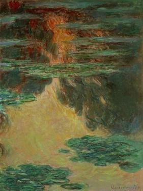 Nympheas,1907 Canvas, 100 x 73 cm Inv.5168. by Claude Monet