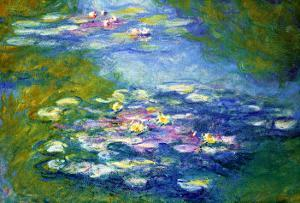 Nympheas, 1907 by Claude Monet
