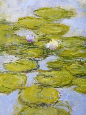 Nympheas, 1916-19 (Detail) by Claude Monet