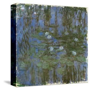 Nympheas Bleus by Claude Monet