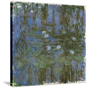 Nympheas Bleus by Claude Monet