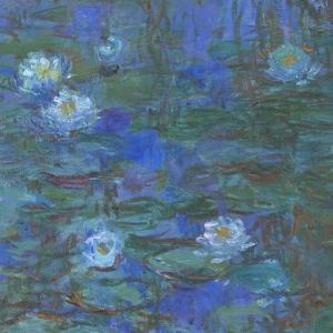 Nymphéas bleus by Claude Monet