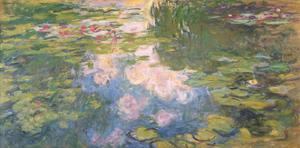 Nympheas, c.1919-22 by Claude Monet