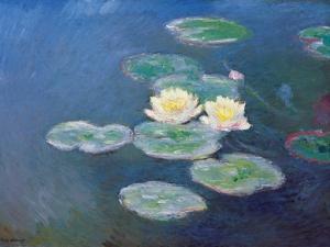 Nympheas: Sun Effects by Claude Monet