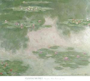 Nympheas Water Landscape, c.1907 by Claude Monet