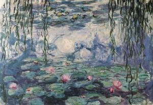 Claude Monet Nympheas Water Lilies Art Print Poster