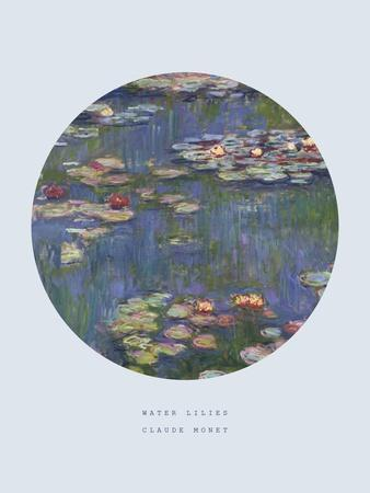 Old Masters, New Circles: Water Lilies (Nympheas), c.1916