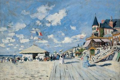 On the Beach at Trouville, 1870