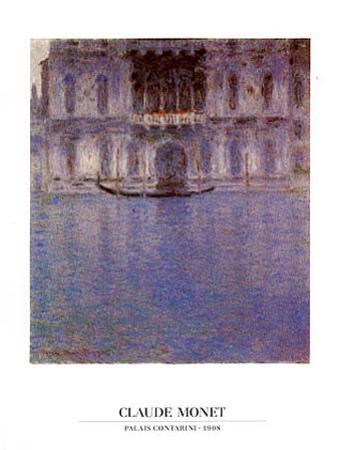 Palais Contarini, 1908 by Claude Monet