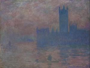 Parliament. London by Claude Monet