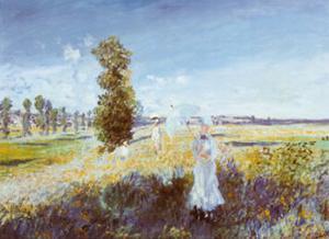 Passeggiata by Claude Monet