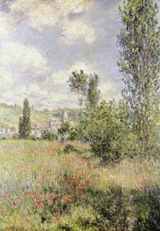 Path in Ile Saint Martin, Vetheuil by Claude Monet