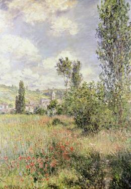 Path in Ile Saint Martin, Vetheuil by Claude Monet