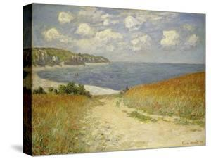 Path in the Wheat at Pourville, 1882 by Claude Monet