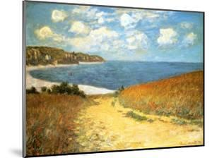 Path Through the Corn at Pourville, 1882 by Claude Monet