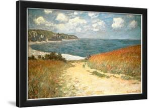 Path Through the Corn at Pourville by Claude Monet