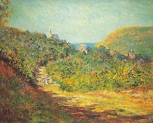 Petites Dalles, c.1884 by Claude Monet