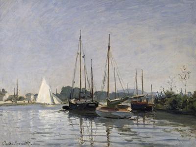 Pleasure Boats, Argenteuil, c.1872-3 by Claude Monet